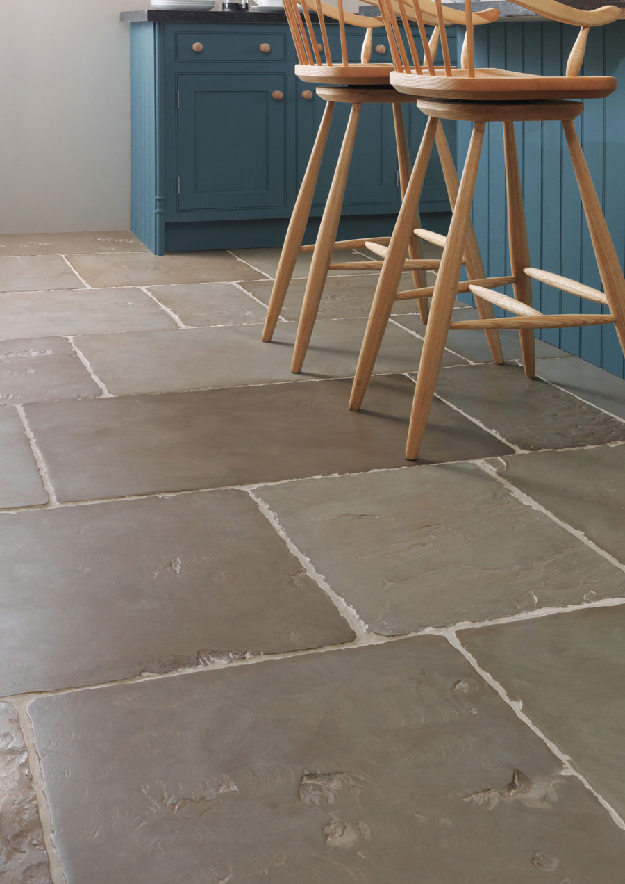 Old Westminster Sandstone Worn and Patinated