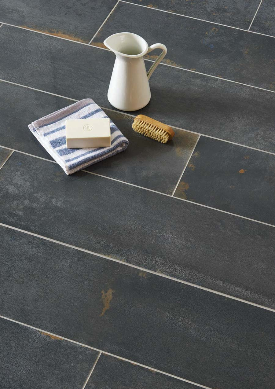 Oxide Black Lappatto - Original Style Tileworks
