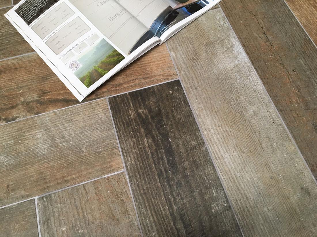 Tim's Tiles Wood Vintage